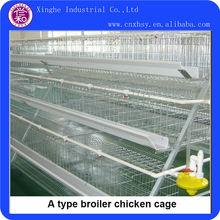 un tipo de galvanización de pollos de engorde jaula del pollo