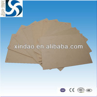 NON-CONDUCTIVE MATERIALS/ Insulating cardboard paper sheet