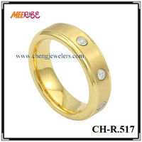 High Quality Comfort Fit Gold Yellow Gold Wedding Rings