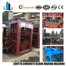 QT4-15 Hollow Paver Colorful Concrete Block Making Machine/export products of Philippines