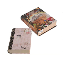 China wholesale book shape paper box gift packaging box for birthday for sale