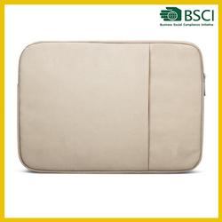 Promotional wholesale white neoprene laptop sleeve