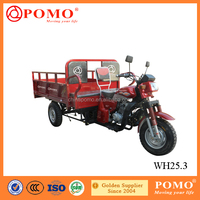 South America Popular Powerful Heavy Load 250CC Cargo 3 Wheel Motorcycle With Passenger Seat