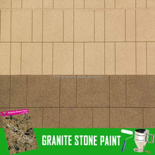 CRYSTONE easy spray application project granite tile effect coating