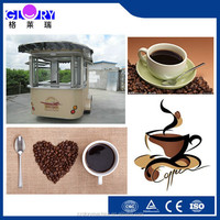 High Quality Mobile Coffe Food Truck/ Street Coffee Cart/ Commercial Coffee Cart For Sale