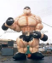 2015 Hot sale inflatable muscle man for advertising/inflatable model/Inflatables Advertising