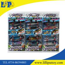 Popular mini finger skating board toy for children 5PCS