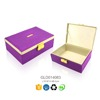 Custom made jewellery packing box with lock
