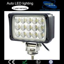 High performance 45w work light led, 6000k car work light led 12v for truck, tractor, 4wd