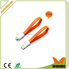 New fashion Standard 22.5cm Magnetic Mini USB Data Cable for Mobile Phone