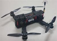 Carbon fiber QAV 250 quadcopter RC frame, quadcopter diy frame with 4-axis