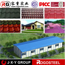 alibaba china supplier prepainted corrugated gi/gl color container house roofing sheets