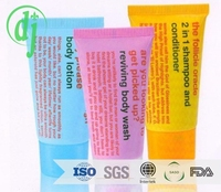 ECO- Disposable Hotel Cheap Hotel Shower Gel /biodegradable shampoo name and logos hotel amenities