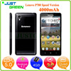 cellphone Lenovo P780 phone mobile 5 inch MTK6589 Quad Cores 1GB 8GB Android 4.2 techno phone