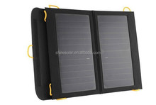 Hot!!! Portable and solar powered charger 13W sunpower cell module