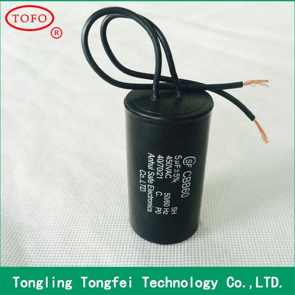 High Quality Cbb60 Ac Motor Capacitor Buy Motor