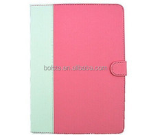 In stock best price leather case for ipad