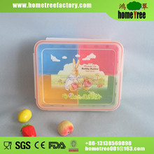 New Product Airtight 4 Compartments Frozen Takeaway Custom Food Box Keep freshness at least several hours