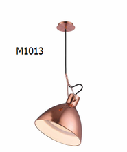 Moving copper lamp shade newly pendant light