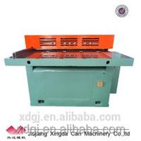 machine making metal tin sheet can tinplate cutter
