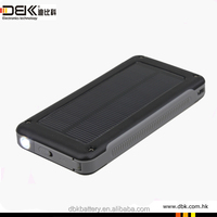 6600mah portable power bank charger different colorful solar power bank charger for mobile phone