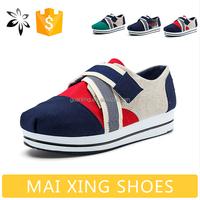 Canvas Shoes Women Flats Buckle Strap Easy Walking Shoe