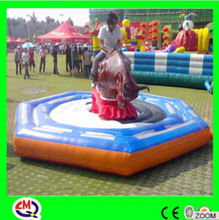 kids having fun electric amusement rides mechanical bull for sale