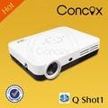 full hd 1080p dlp proyector con wifi 600 lúmenes q shot1 proyector led 3d