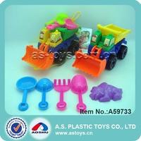 4 kinds shovels beach molds play kids sand beach building block car