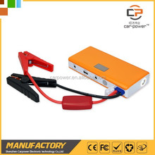 Multi-function jump starter with great power pack to start the car and charging the phone as auto Backup battery