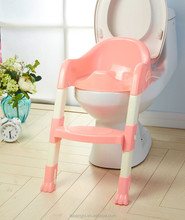 Potty Training (Toilet Training) Ladder for Girls and Boys PINK