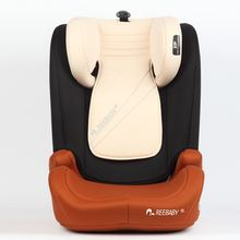 safe baby booster car seat with ISO-FIX/LATCH system , for 15-36KG (Group 2+3) , ECE-R44/04