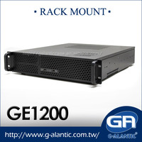 GE1200 2U horizontal server Rack Mount computer case