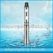 max head 210m solar powered submersible deep water well pump