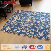 Trade Assurance Fashion Design Living Room Carpet Polyester Woven Carpet Axminster Carpet For Hotel