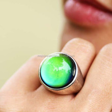 Large Stone Rings Single Mood Stone Rings New Products Looking for Distributor