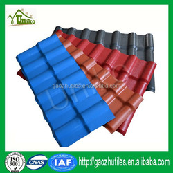 2015 new color roof tiles building construction material synthetic spanish roofing tile alibaba china