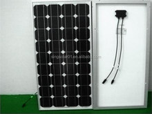 High efficiency solar panel 100w mono for home and industrial use