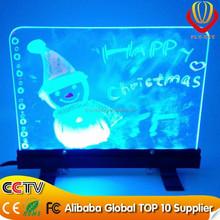 alibaba express NEW LED item wholesale desktop led writing board super brightness & catching eyes