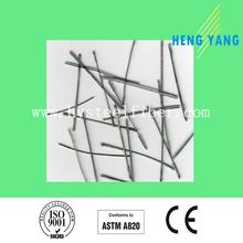 Diameter 0.4mm Length 19mm Stainless Steel Needles SS309 for Monolithic Refratories