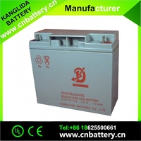 Wholesale ups battery 12V 17ah rechargeable lead acid battery used Emergence light and security system