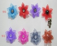 plastic Flower design Shoes Charm/Shoe Clog