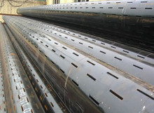 API 5CT Slotted Pipe, Laser Cutted, Solutions to improve Petroleum Extraction