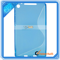 Waterproof Tablet TPU Case for Google Nexus 7 II portugues tablet case Blue