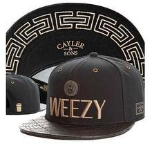 New Hot Sale Weezy Snapback Cayler Sons Caps Baseball Tmt Gorra Hip Hop Summer Autumn Cap Men Women Free Shipping