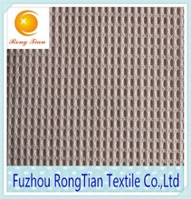 Cheap price polyester knitted square grid net mesh fabric