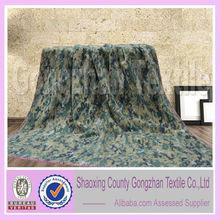 polyester printing camouflage fleece blanket
