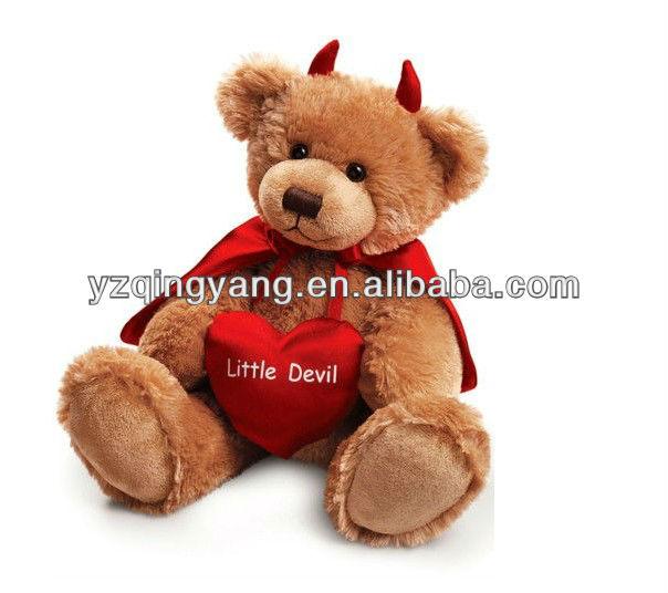 mayor venta nuevo regalo especial de San Valentín osos de peluche suave se ajustan a CE/EN71