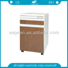 AG-BC012 Hospital steel bed table with a drawer