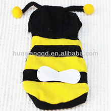 new design cute honey bee costume for pet dog, pet collection, pet clothes
